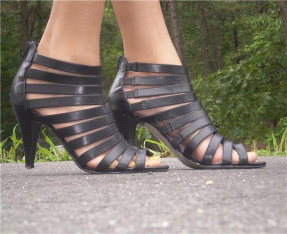 Gladiator Sandal- Black