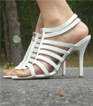 Gladiator Sandal- White