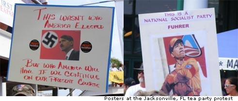 Jacksonville Tea party Protest