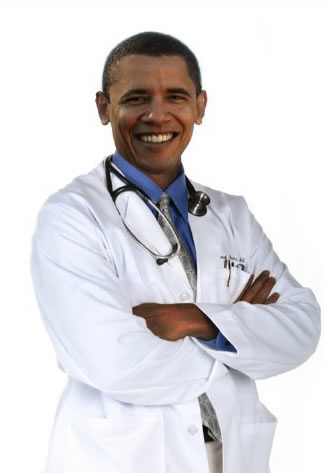 Doctor Obama? photo: http://www.brandchannel.com/home/image.axd?picture=2009%2F9%2FObamaHealthCare.jpg