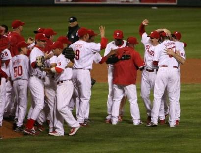 The Phils are looking for another celebration this month. Photo: Joe Vallee Sr.