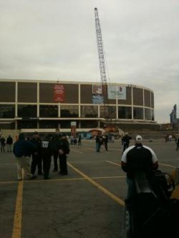 The Spectrum's demolition clearly marks the end of an era in the history of Philadelphia sports