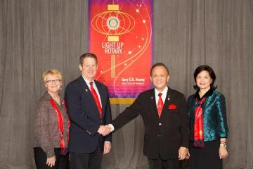 Rotary International's President Gary C.K. Huang: Building a bigger and brighter Rotary